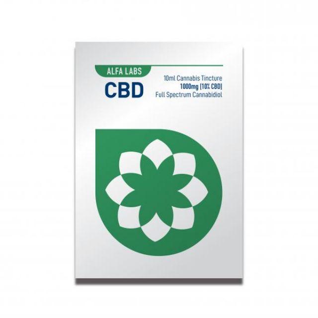 Alfa Labs 10Ml Cbd Cannabis Oral Tincture