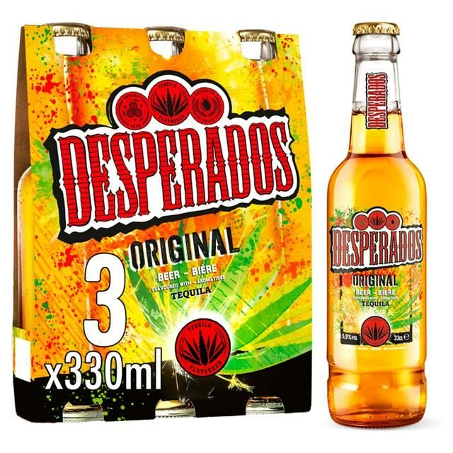 Desperados bottles 3 * 330ml