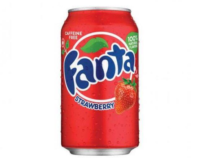 American Fanta Strawberry 355ml