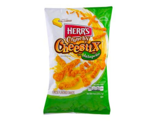 Herr's Cheestix Jalapeno 198g