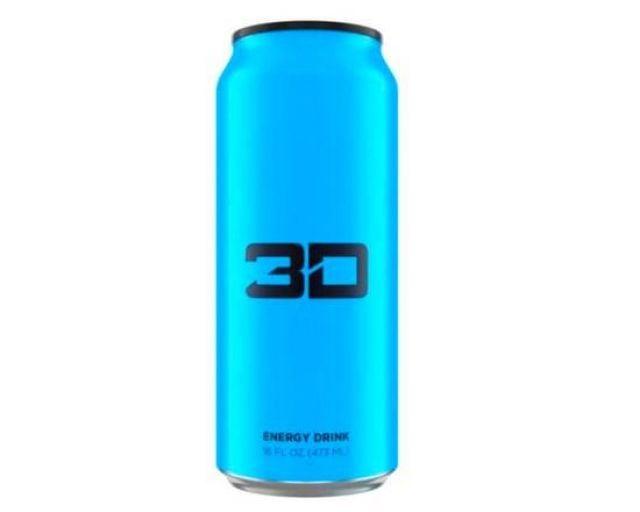3D Energy Drink Berry Blue