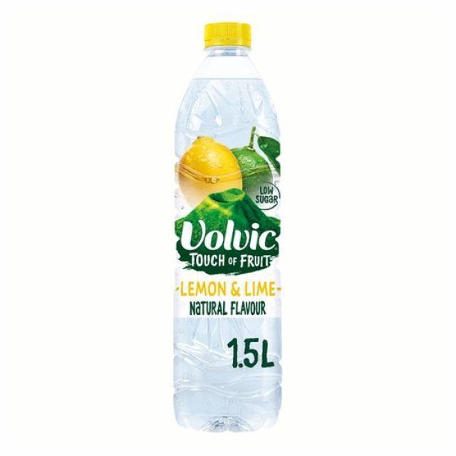 Volvic Touch of Fruits Lemon Lime 1.5Ltr