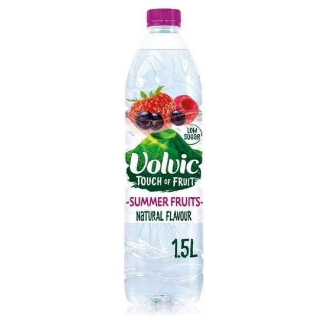 Volvic Touch of Fruit Summer Fruits 1.5L