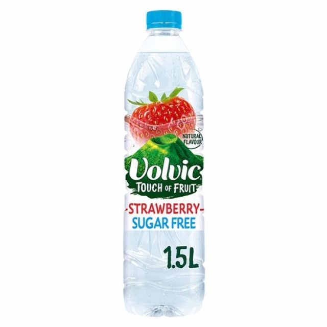 Volvic Touch of Fruits Strawberry S/Free 1.5Ltr