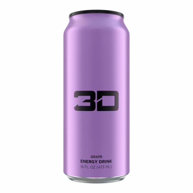 3D Energy Drink Grape