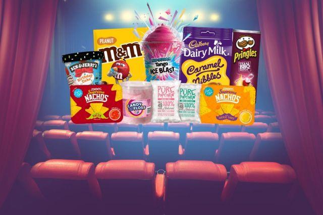Family Fun Bundle: 1 Twister Cup+ 2 Large Tango + 2 Share Bags+ 1 Crsip+1 Popcorn