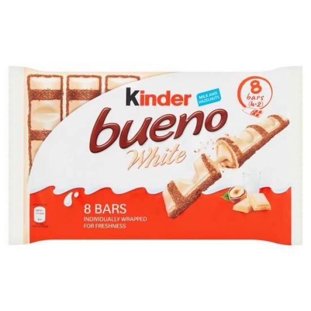 Kinder Bueno White Chocolate 4pk 156g