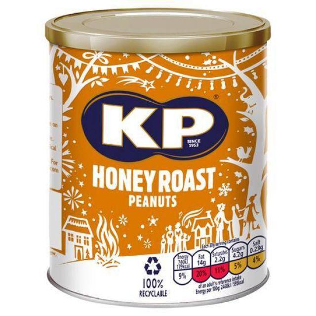 KP Honey Roast Peanuts 375g