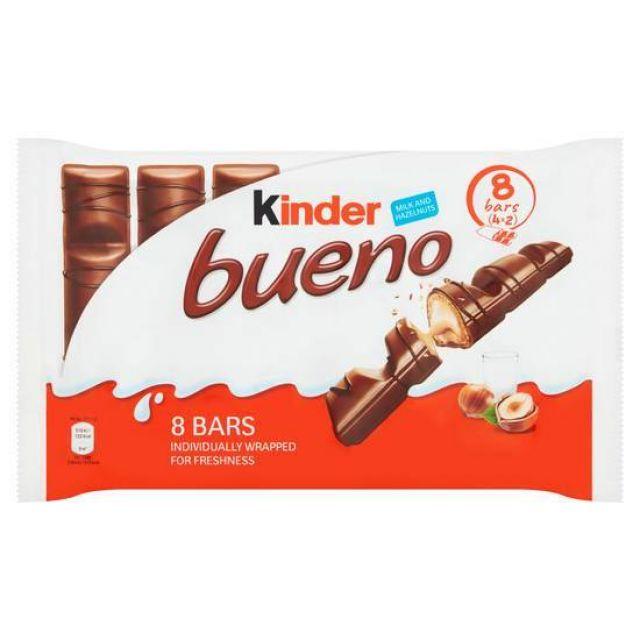 Kinder Bueno Milk Chocolate 4pk 156g