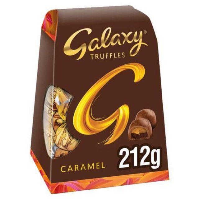 Galaxy Truffles Caramel Medium 212g
