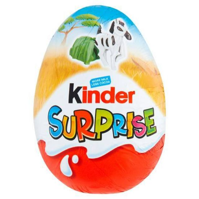 Kinder Surprise Chocolate Egg With Gift 20g