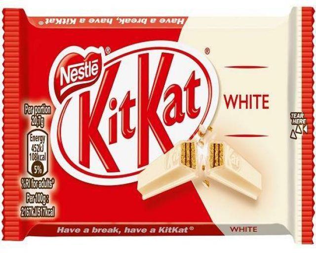 Nestle Kit Kat 4 Finger White 42g