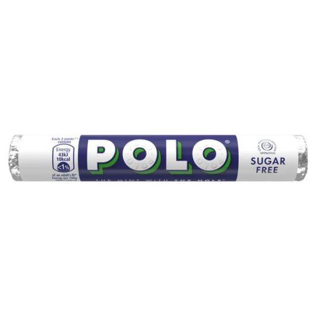 Polo Mints Sugar Free 34g