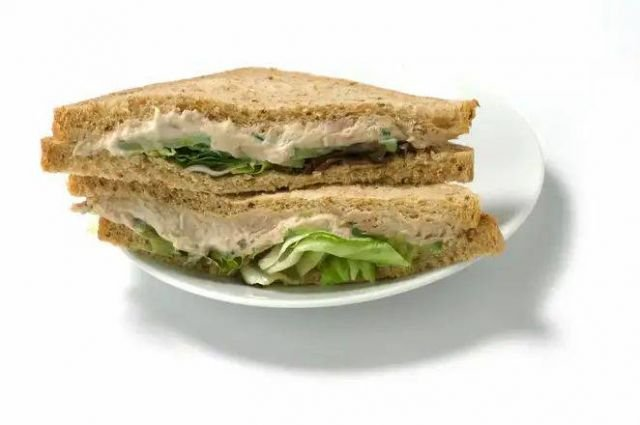 Spar Tuna Mayonnaise Sandwich