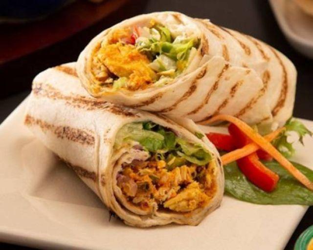 Spar Chicken Tikka Wrap