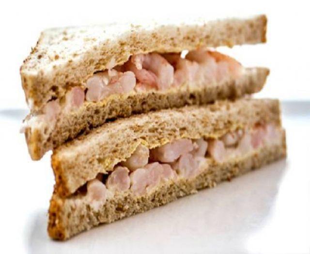 Spar Prawn Mayonnaise Sandwich