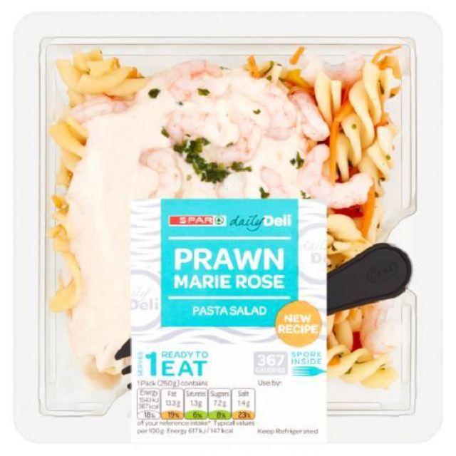 Spar Prawn Pasta Salad