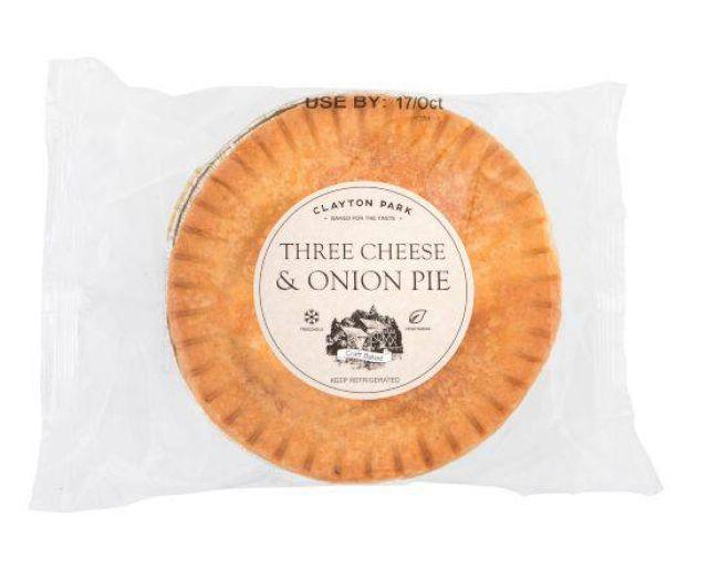 CP Three Cheese & Onion Pie