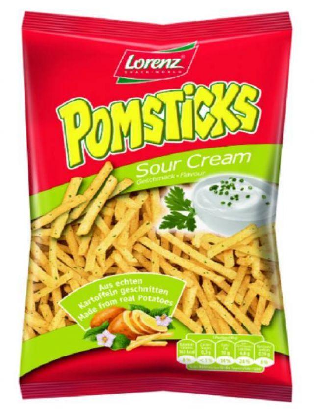 Lorenz Pomsticks Sour Cream 95g