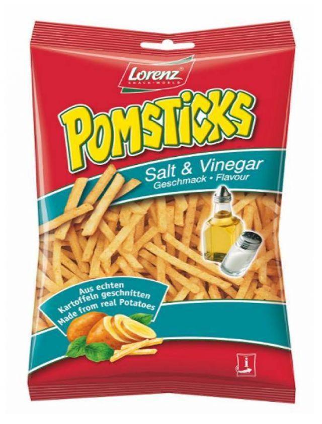 Lorenz Pomsticks Salt & Vinegar 95g