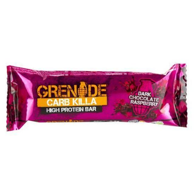 Grenade Carb Killa Dark Chocolate Raspberry 60g
