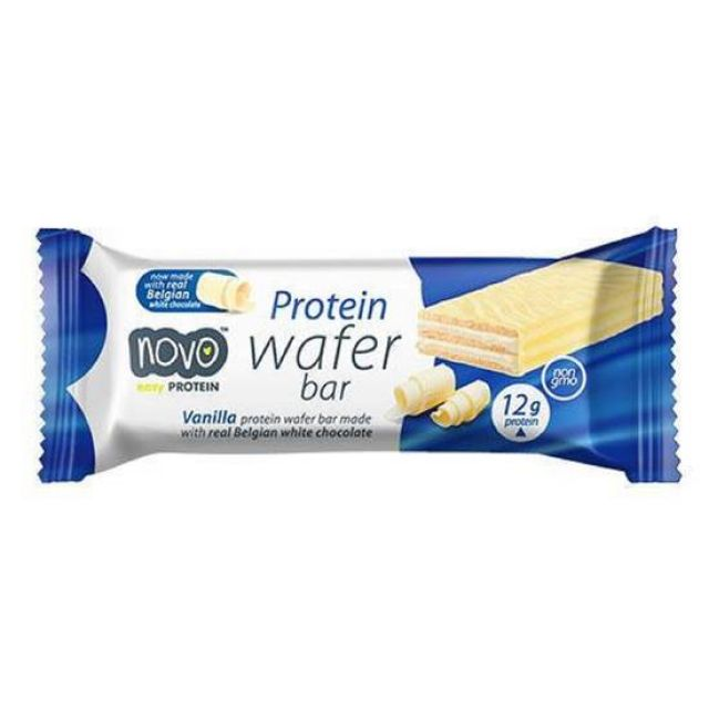 Novo Protein Wafer Bar Vanilla 40g