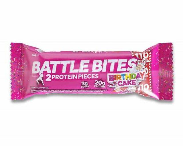Battle Bites Birthday cake 60g