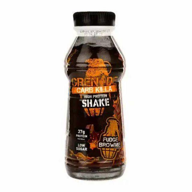 Grenade Carb Killa Shake Fudge Brownie 330ml