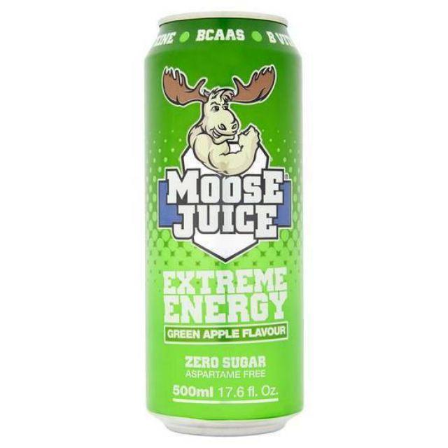 MooseJuice BCAAS Green Apple 500ml
