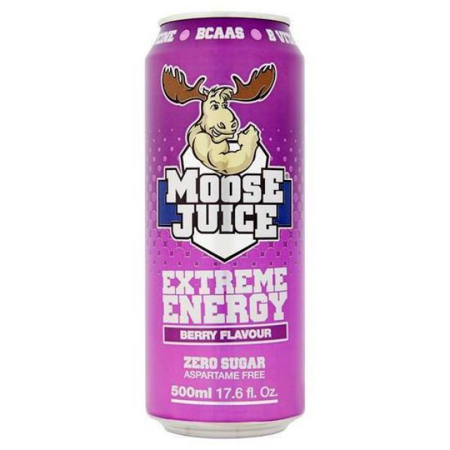 MooseJuice BCAAS Berry 500ml