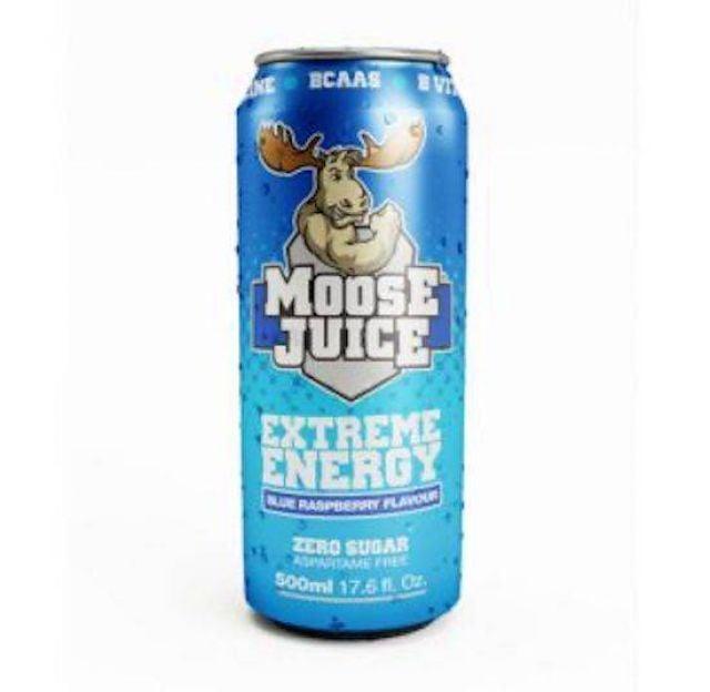 MooseJuice BCAAS Blue Raspberry 500ml