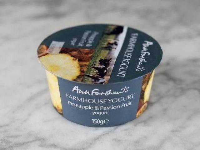 Ann Forshaw's Pineapple & Passion Fruit Yogurt 150g