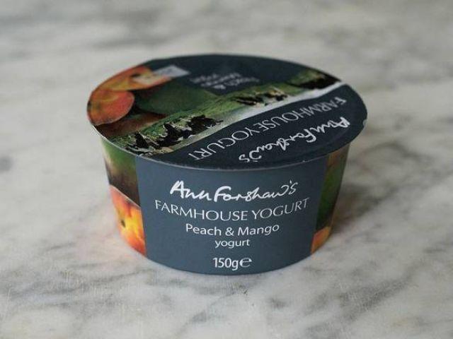 Ann Forshaw's Peach and Mango Yogurt 150g