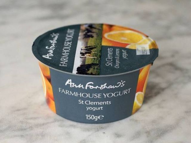 Ann Forshaw's St Clements Yogurt 150g