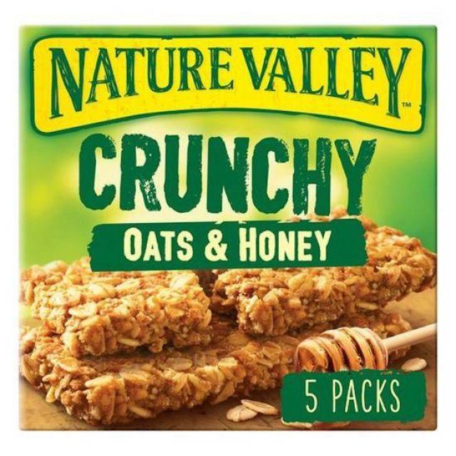 Nature Valley Crunchy Oats & Honey 5 Pack