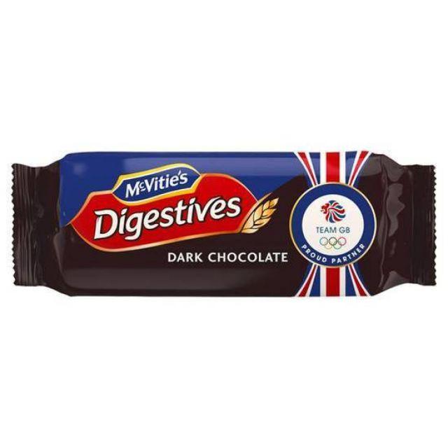 McVitie's Digestive Dark Choc 266g