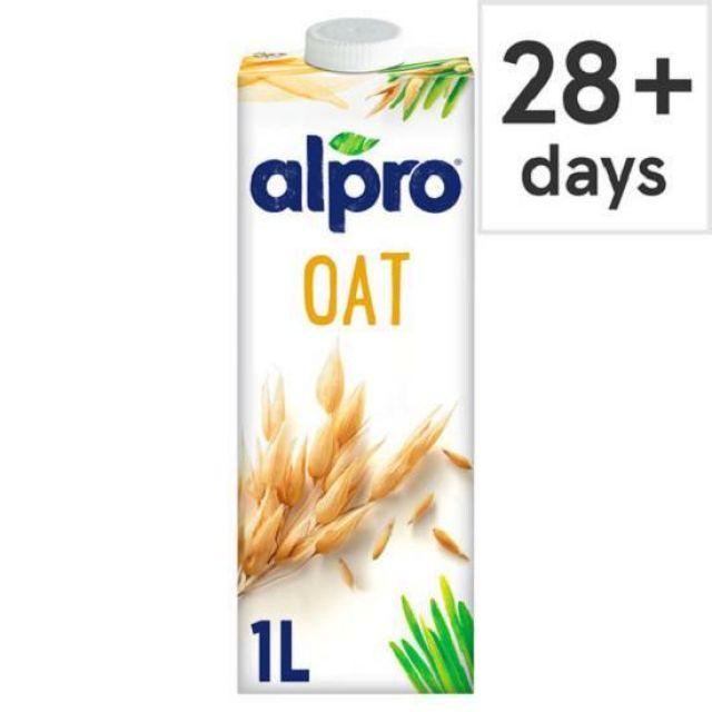 Alpro Fresh Oat Soya Milk 1Ltr