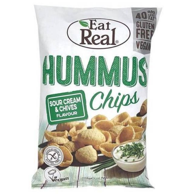 Eat Real Hummus Sour Cream & Chive 135g