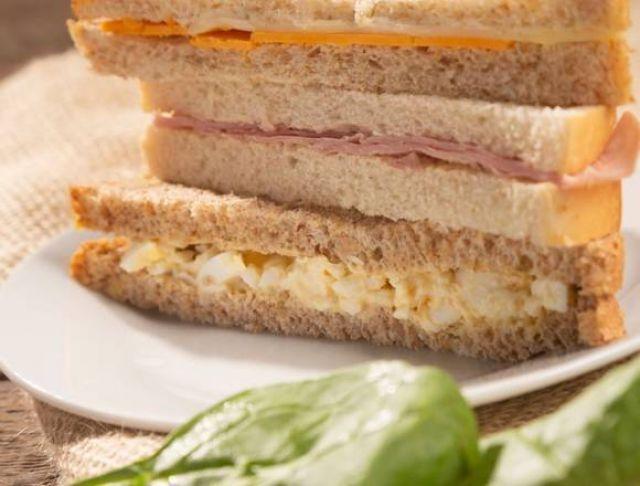 Spar Cheese & Tomato Sandwich