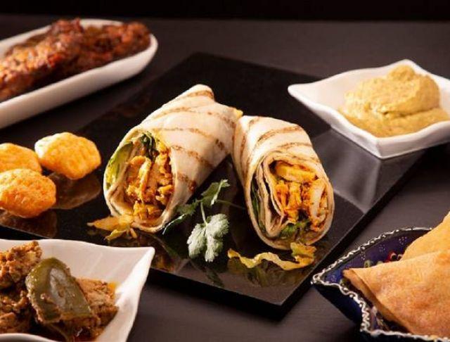 Fazila Chicken Tikka Wrap
