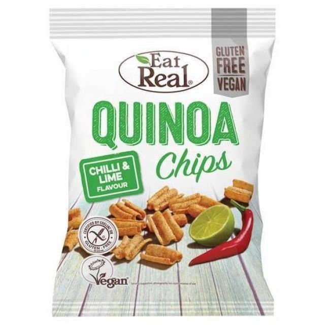 Eat Real Quinoa Chilli & Lime 80g