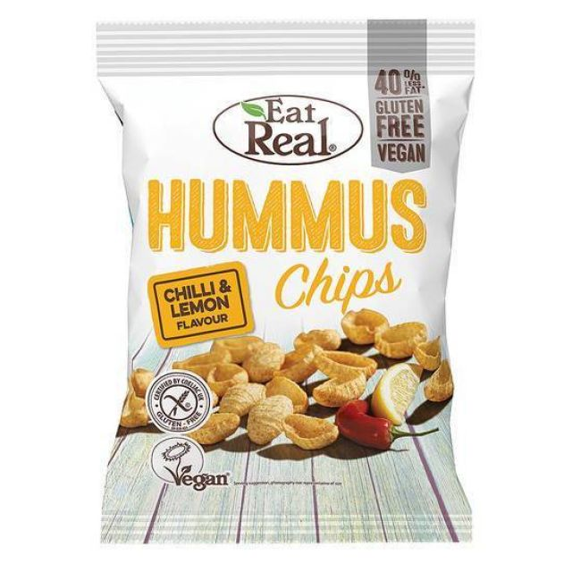 Eat Real Hummus Chilli & Lime 135G