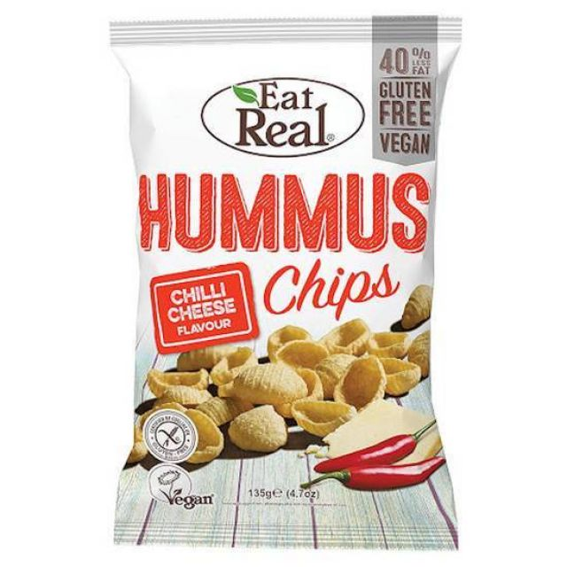 Eat Real Hummus Chilli & Cheese 113g