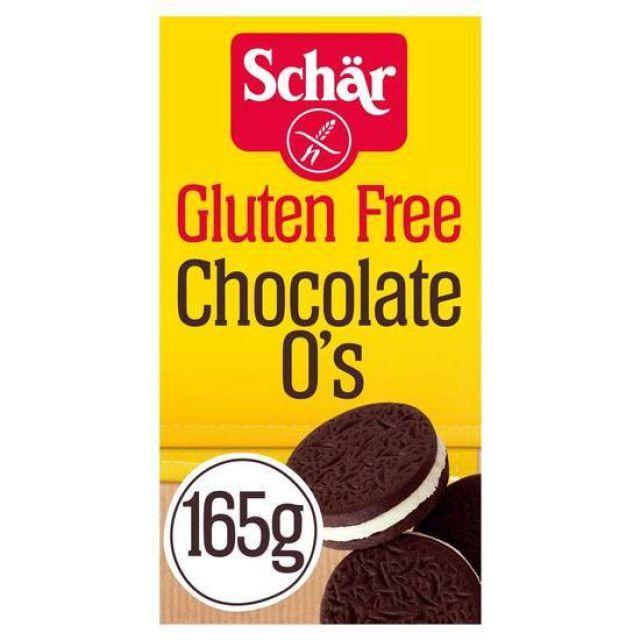 Schar Gluten Free Chocolate O's 165g
