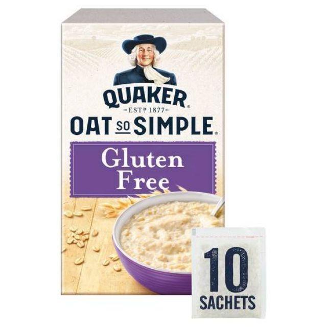 Gluten Free Quaker Oats 10 x 35g