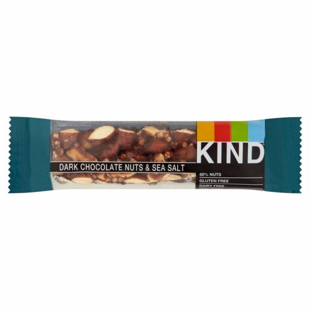 Kind Bar Dark Chocolate Nuts & Sea Salt 40g