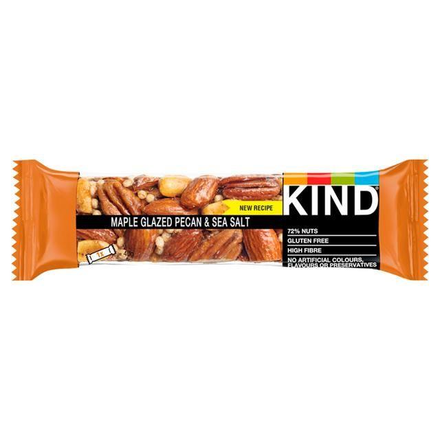 Kind Bar Maple Glazed Pecan & Sea Salt 40g
