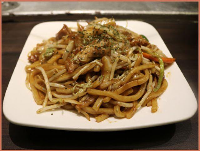 TORI fried udon