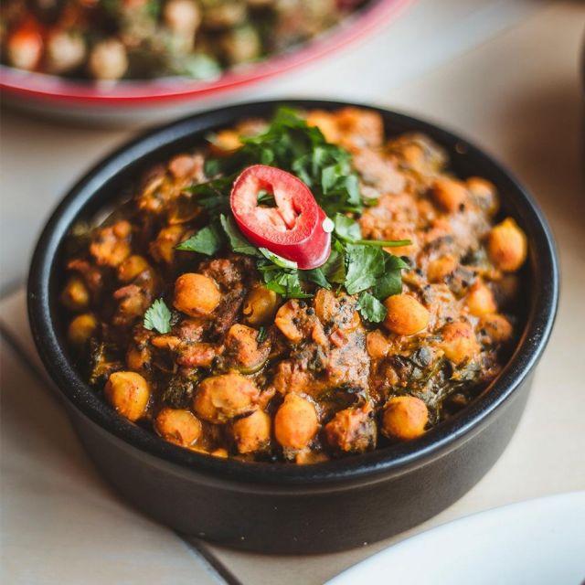 Chole Chickpea Curry (GF) (VG)