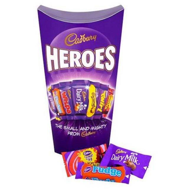 Cadbury Heroes Chocolate Carton 390g